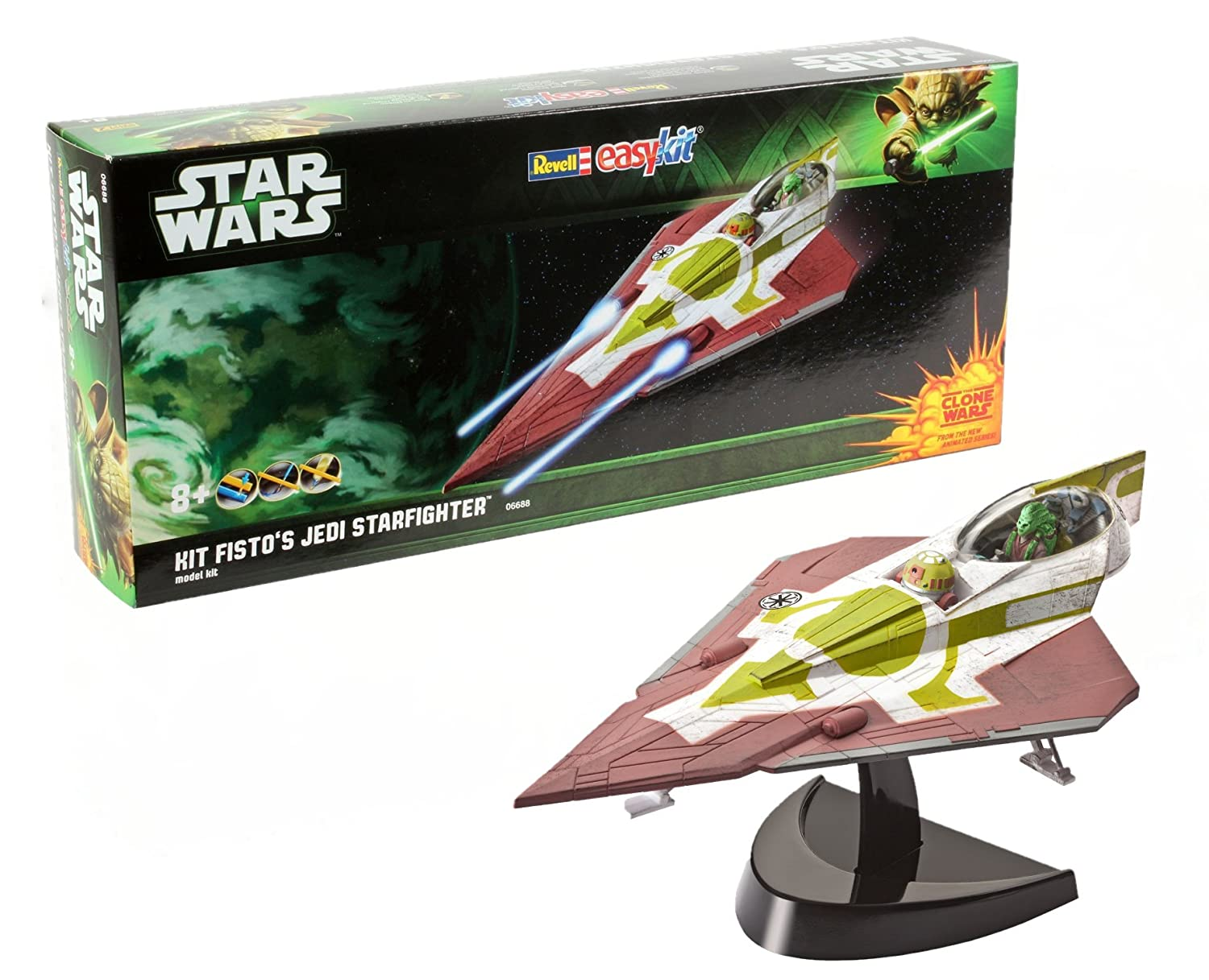 Revell- Maqueta Star Wars Fistos Jedi Starfighter, Easy Kit ...