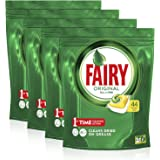 Fairy All in One Lemon Dishwasher Tablets 176 Capsules, (4 x 44 Tablets)