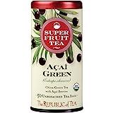 The Republic of Tea, Acai Green Tea Superfruit, Caffeinated, 50 Tea Bags