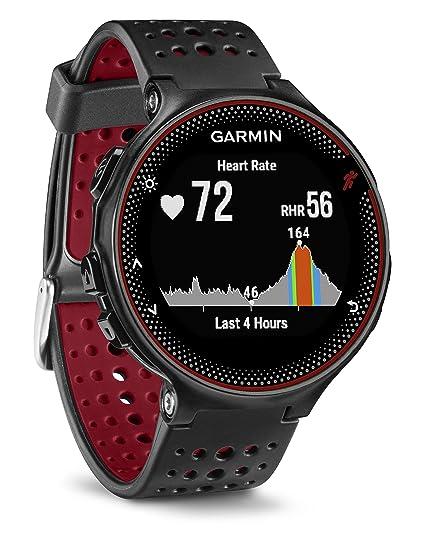 c4ef83557f3 Relógio Monitor Cardíaco embutido Garmin Forerunner 235  Amazon.com ...