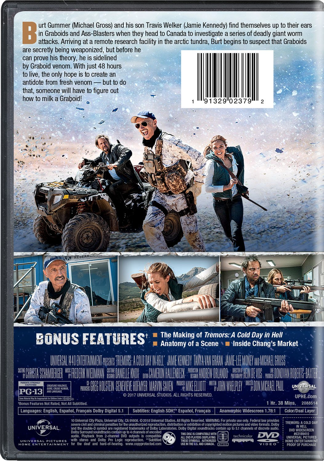 Amazon Tremors A Cold Day In Hell Jamie Kennedy Tanya Van