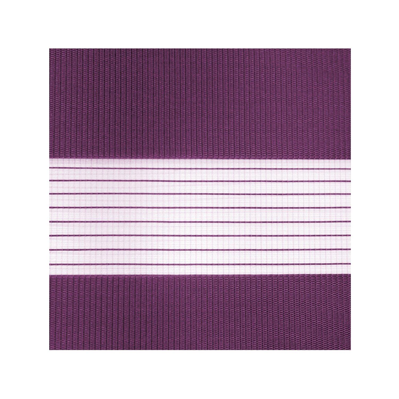 Victoria M. - Estor doble enrollable (para ventanas y puertas) 140 x 175 cm, Púrpura: Amazon.es: Hogar