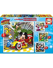 Educa Borrás Mickey and The Roadster Racers Puzzle 17629