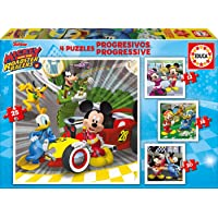 Educa Borrás- Mickey and The Roadster Racers Puzzle