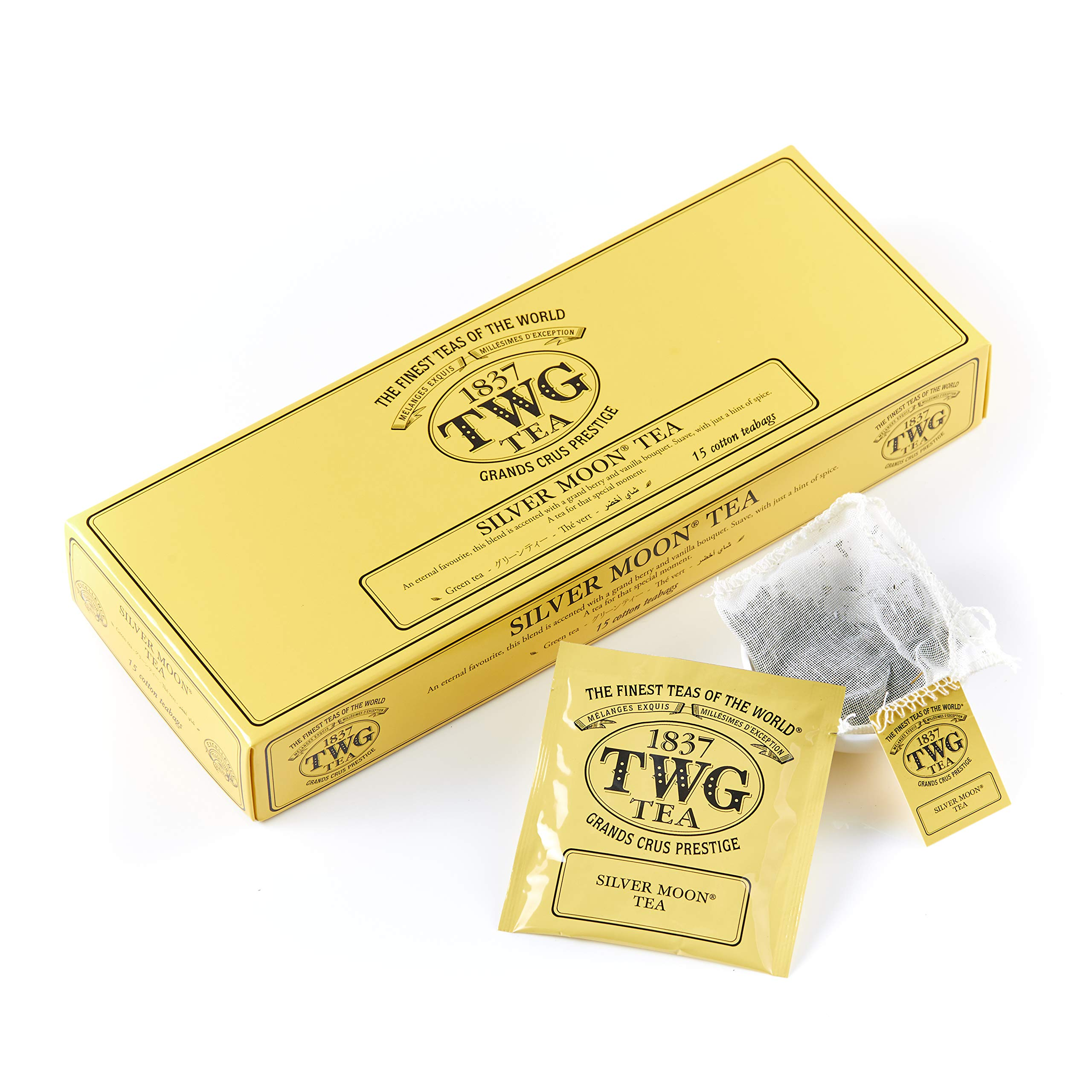 TWG Tea - Silver Moon Tea (PACKTB6018) - 15 x 2.5gr Tea bags