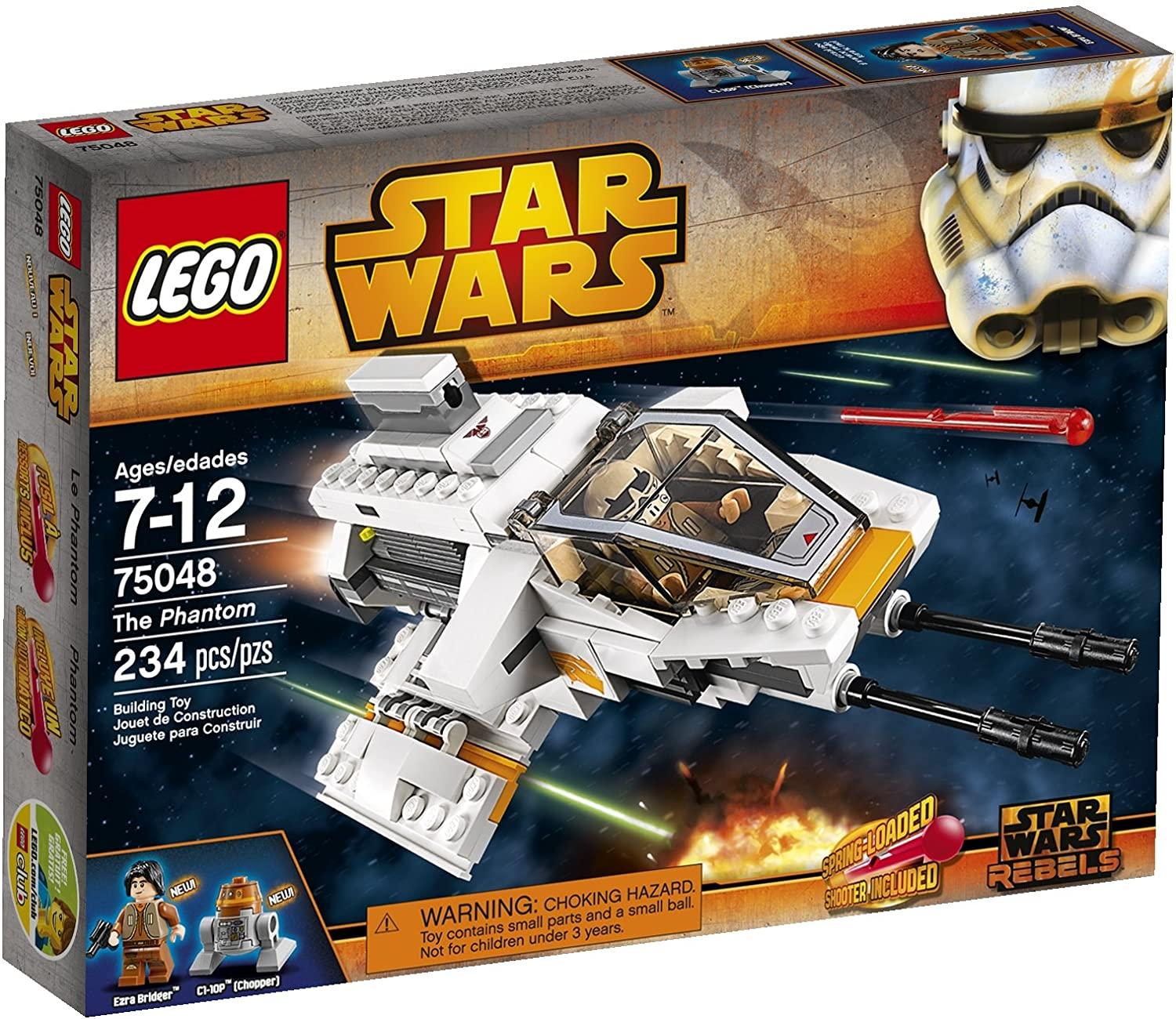 LEGO Star Wars 75048 The Phantom Building Toy (Discontinued by manufacturer)
