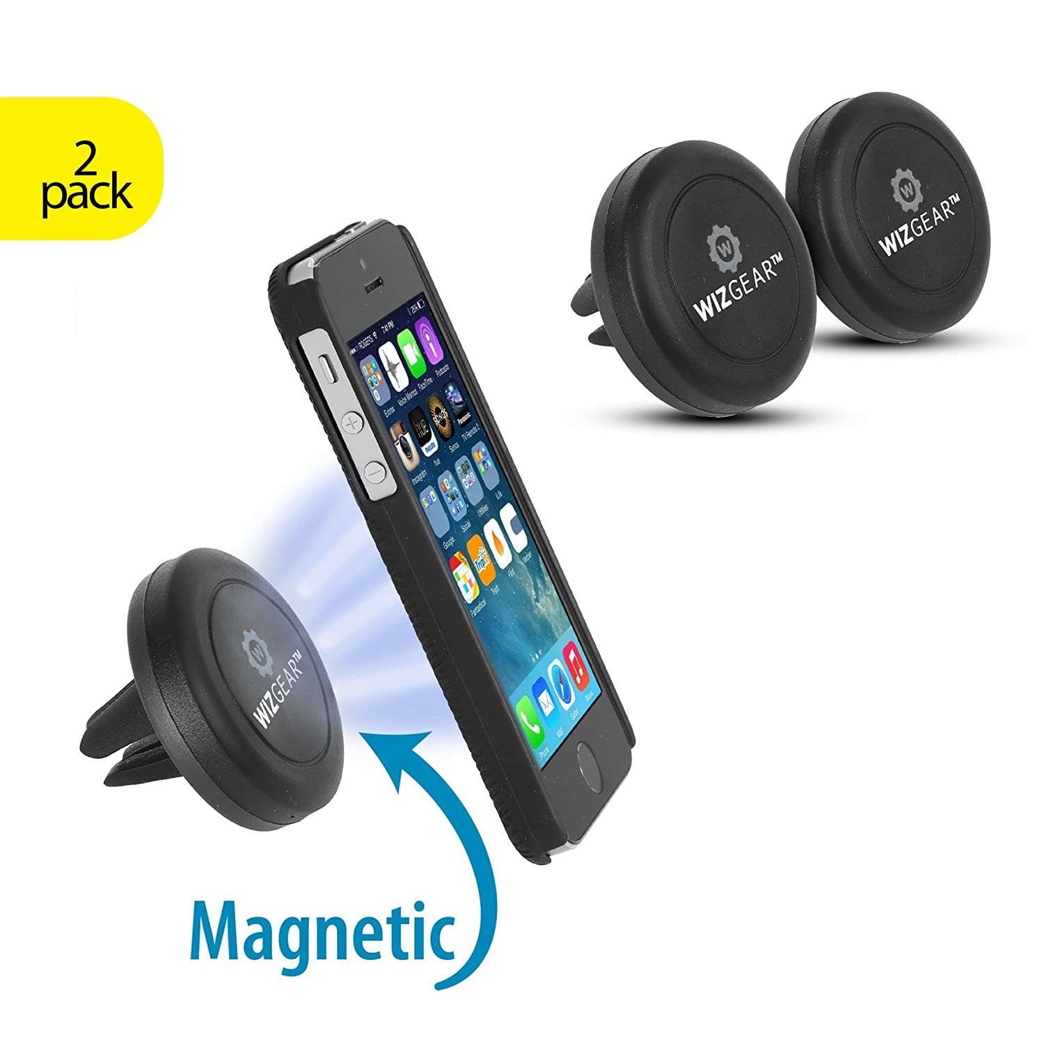 Magnetic Mount, WizGear [2 PACK] Universal