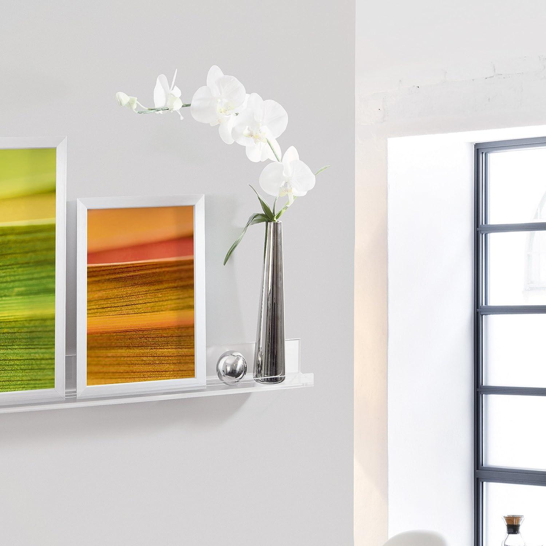 acrylique transparent Sigel GA110 /Étag/ère transparente pour tableaux 100 cm