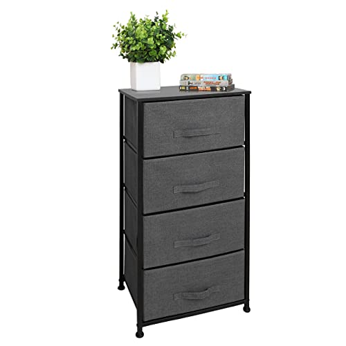 East Loft Tall 4 Drawer Dresser Storage Organizer