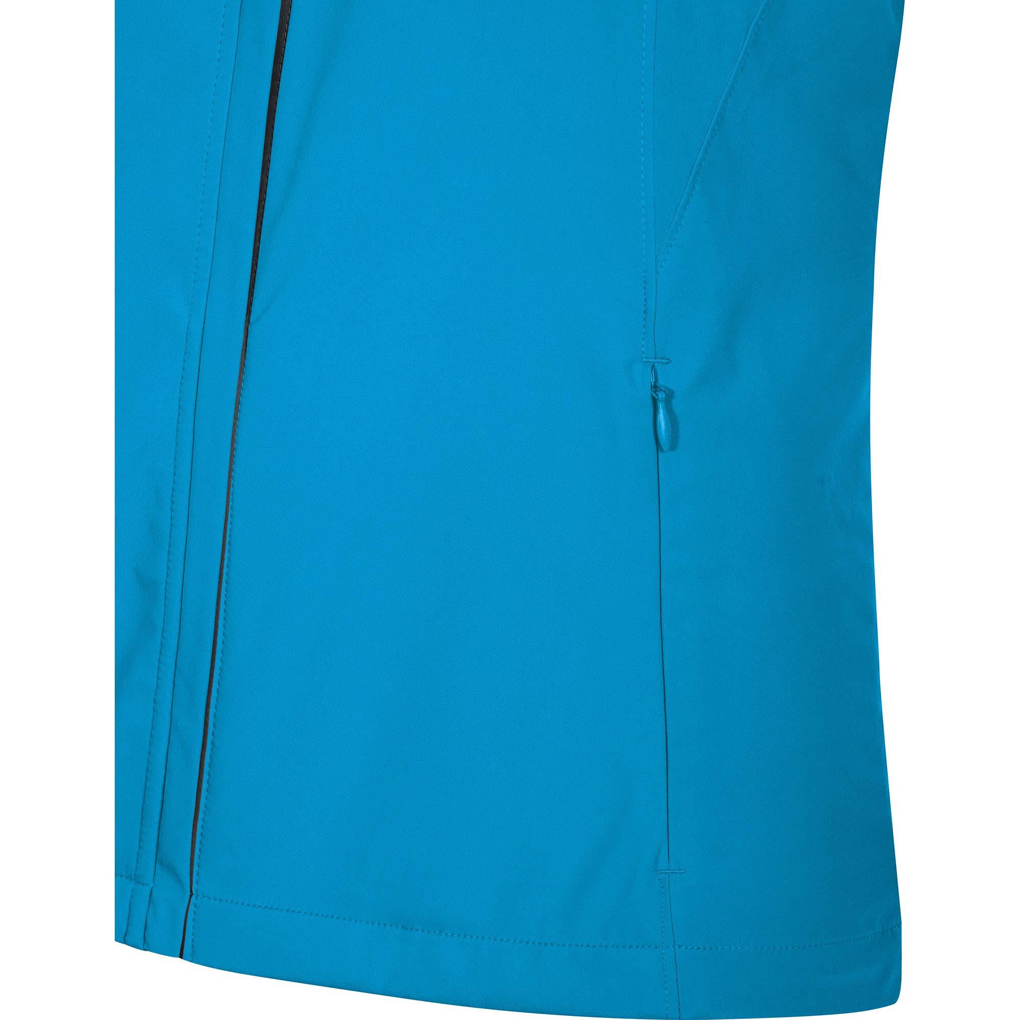 GORE Wear Women's Windproof Running Jacket, R3 Women's Partial WINDSTOPPER Jacket, Size: L, Color: Dynamic Cyan, 100081 by GORE WEAR (Image #6)