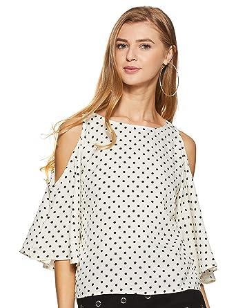 6becfe7c3e0 Harpa Cream Women's Top (GR3747-CREAM): Amazon.in: Clothing ...