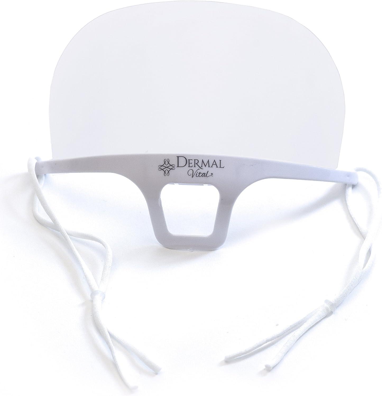 Hygiène Masque bouche protection pour cosmétiques Studio Salon Micro blading Tattoo Service 1 pièce couleur blanc, Taille 14 x 10,5 cm