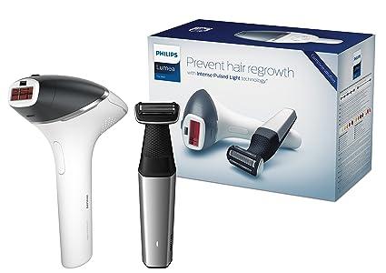 Philips Lumea for Men - Sistema de depilación IPL con sensor SmartSkin y cinco ajustes