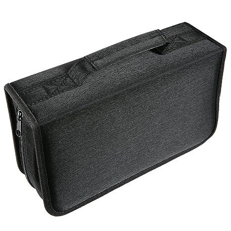 Amazon.com: laishalaiku 128 CD Case bolsa de funda de ...