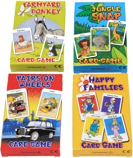 Children/'s Traditional Card Games Jungle Snap