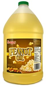 Snappy Popcorn 1 Gallon Snappy Pure Peanut Oil No Color Added, 128 Fl Oz