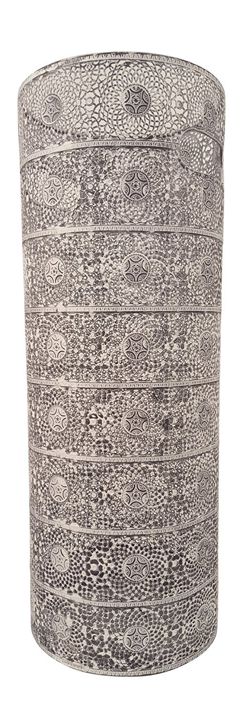Concepts White Umbrella Rack With Lace Circles 21