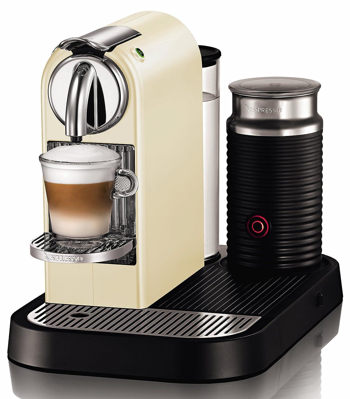 Nespresso D120 Citiz Automatic Single Serve Espresso Maker With Aeroccino Milk