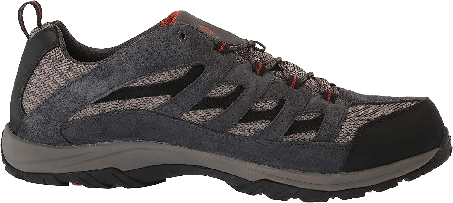 Columbia Mens Crestwood Waterproof Hiking Boot High-Traction Grip Breathable