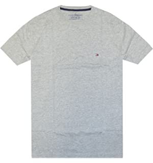 9f79cacb0 Tommy Hilfiger T-Shirt Mens Crew Neck Tee Classic Fit Short Sleeve Solid  Shirt
