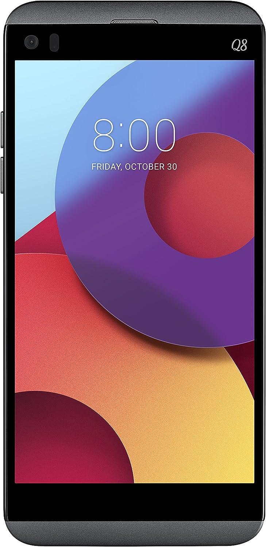 LG Q8 Smartphone, Display 5.2 Pollici QuadHD, Schermo secondario, Memoria Interna da 32 GB (espandibile fino a 2 TB), 4 GB RAM, Processore Qualcomm Snapdragon 820 2.15Ghz, QuadDAC 32bit, Doppia Fotocamera 16Mpx / 8Mpx, Batteria 3000 mAh, Certificato IP67, Titanio [Italia]