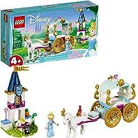 91-Pieces LEGO Disney Cinderella's Carriage Ride 41159 4+Building Kit, 2019