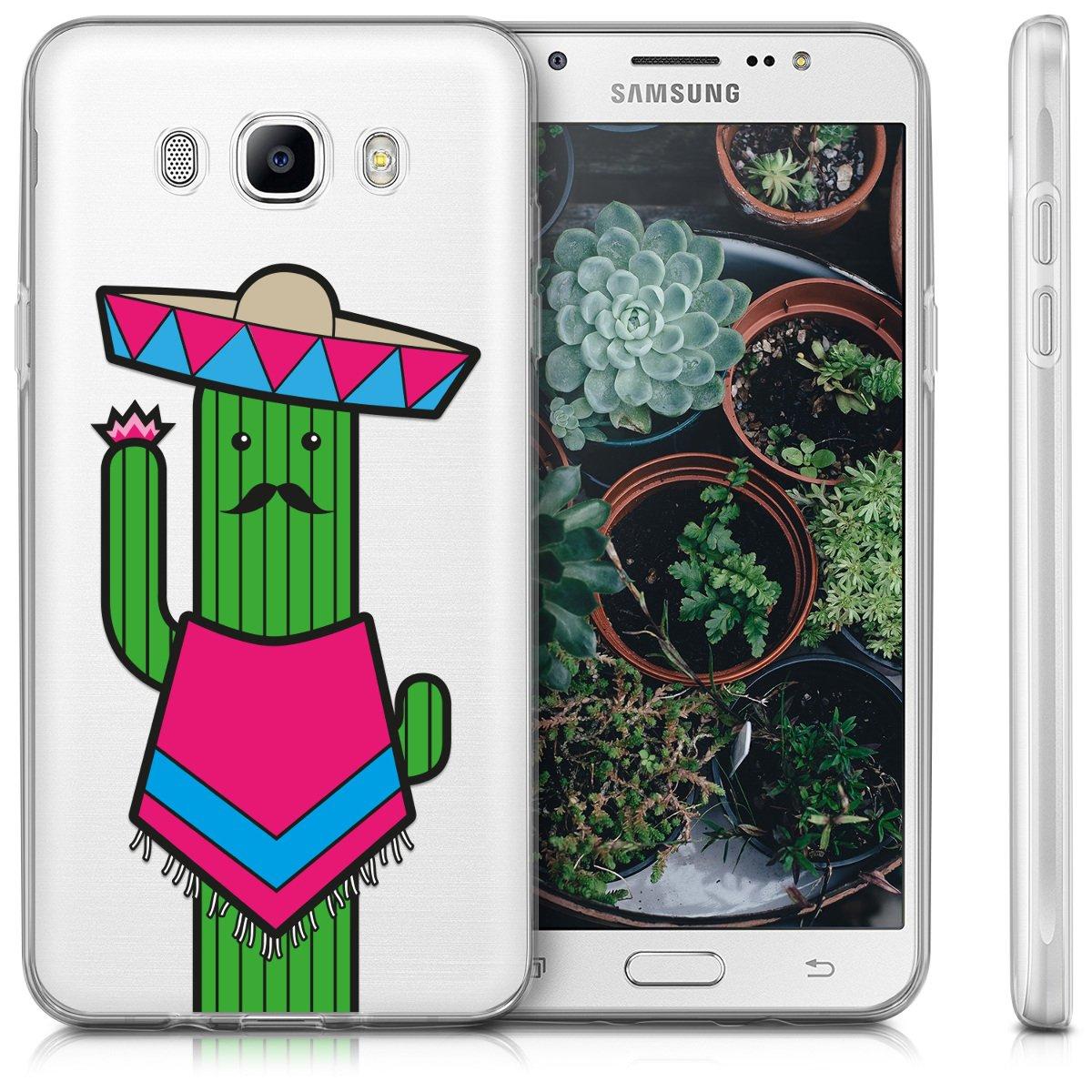 2016 - Coque pour Samsung Galaxy J7 - Housse de t/él/éphone en Silicone Or Rose m/étallique kwmobile Coque Samsung Galaxy J7 2016