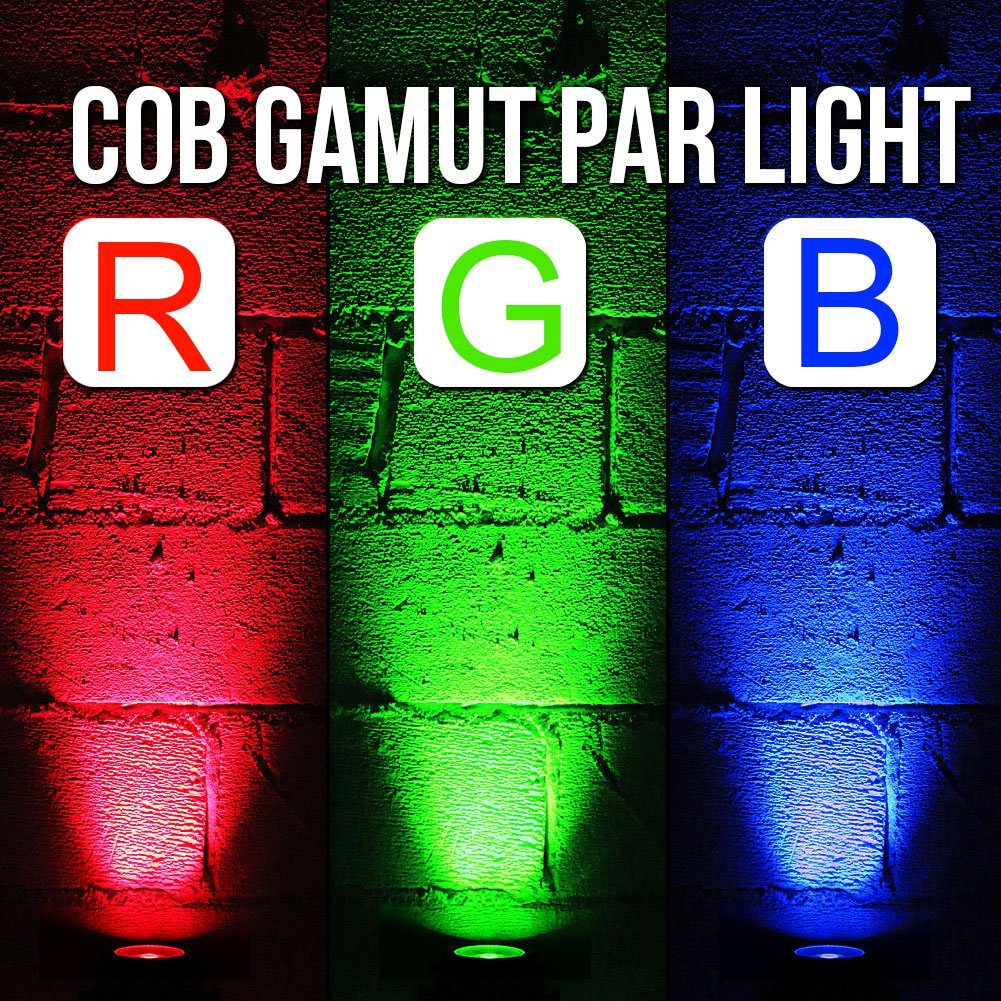 Oppsk Stage Lights With 30w Cob Rgb Tricolors Led Par Light Circuit Board Buy Boardled By Rf Remote And Dmx Control Musical Instruments