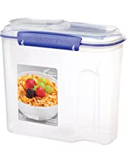 Sistema Klip It 2.8 Litre Cereal Container, Clear
