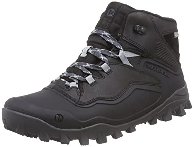 Amazon.com | Merrell Men's Fraxion Shell 6 Waterproof Winter Boot ...