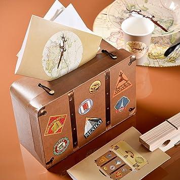 Kleiner Reise Koffer Fur Geldgeschenke Aus Karton Amazon De Kuche