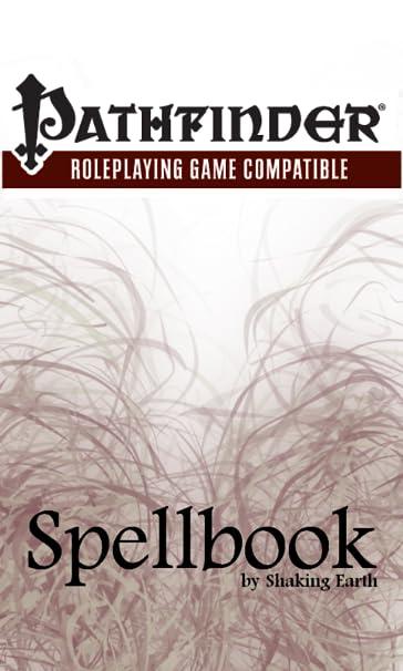 Spellbook - Pathfinder