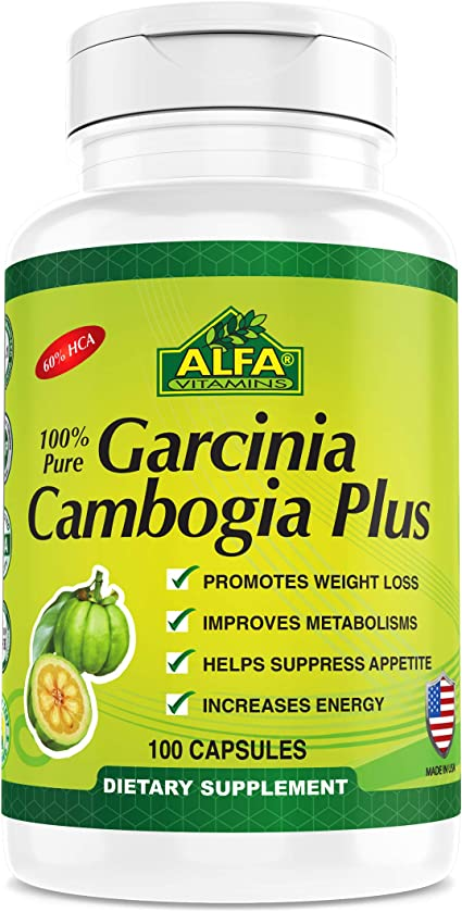 Amazon Com Garcinia Cambogia Extract 60 Hca By Alfa Vitamins
