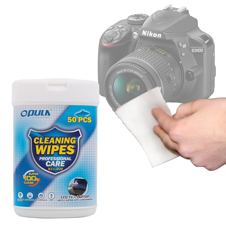 DURAGADGET Toallitas para Cámara Nikon D3400: Amazon.es: Electrónica