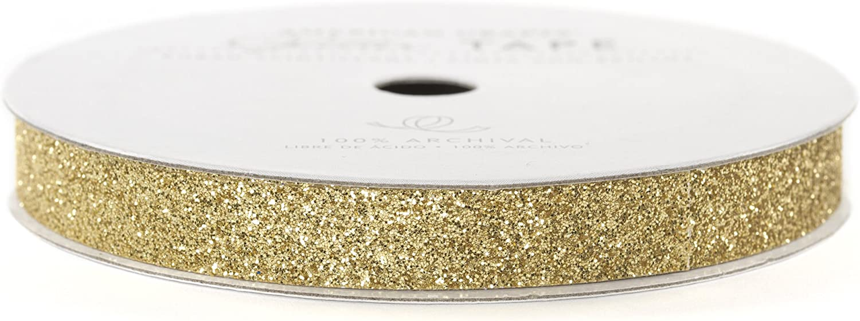 American Crafts Glitter Tape, Brown Sugar, 3/8-Inch 81bqEenNALL