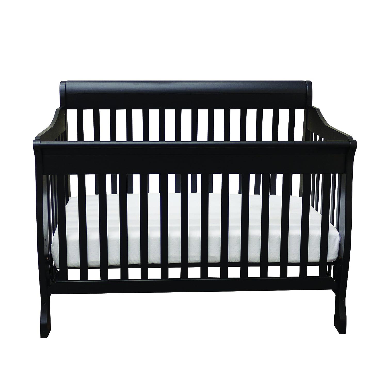 Bily Kaden Sleigh Crib Black