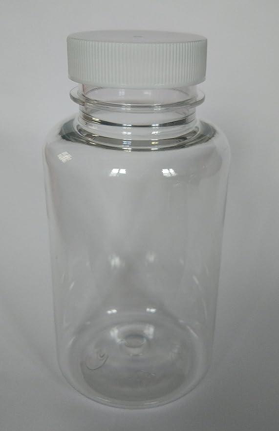 20 x 200 ml Botellas de PET Plástico Transparente platstik ...