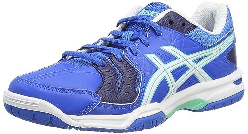 ASICS Gel-Squad - Zapatillas de Balonmano para Mujer, Color Azul (Electric Blue/White/Navy 3901), Talla 40.5: Amazon.es: Zapatos y complementos
