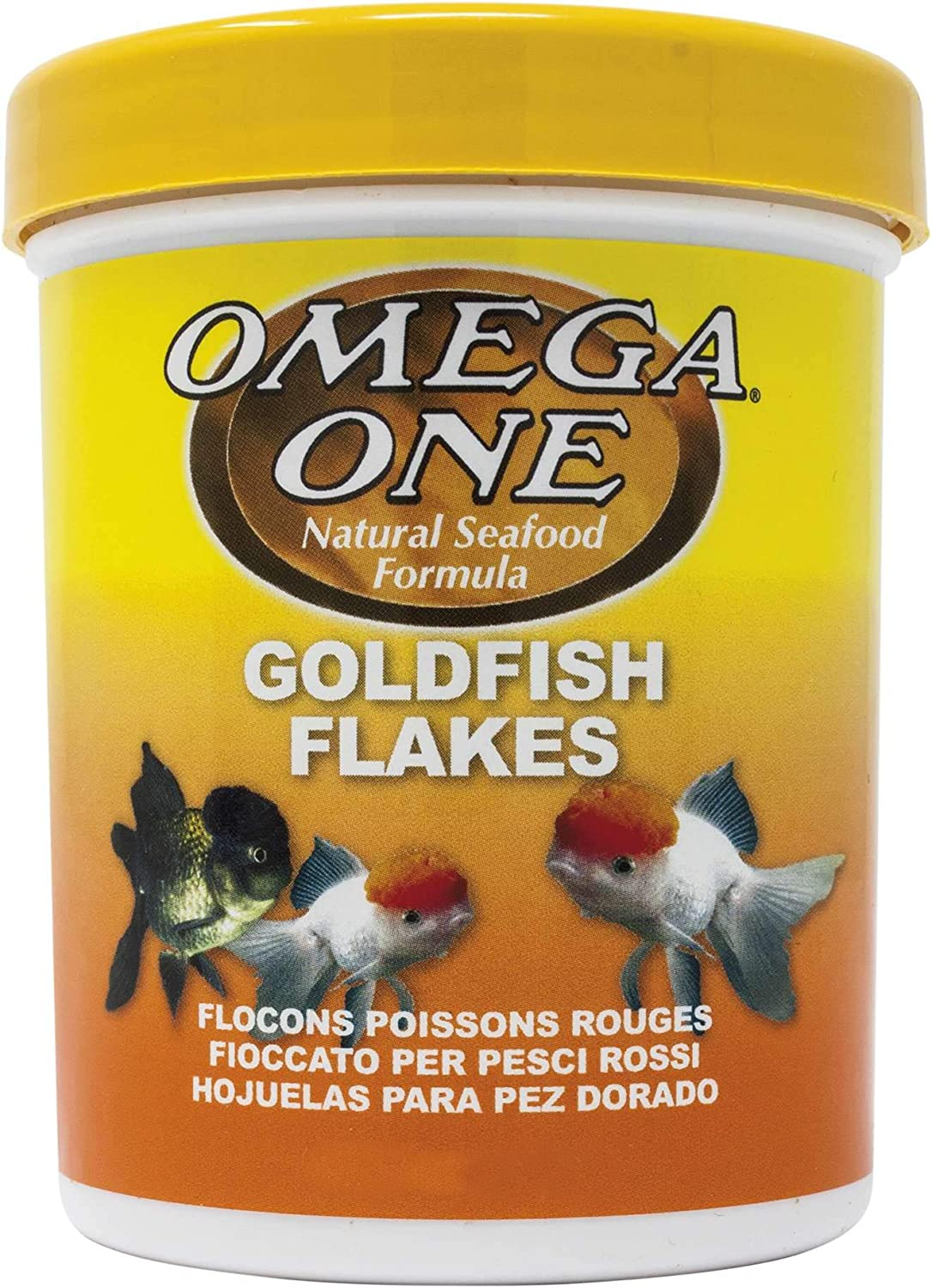 Omega One Goldfish Flakes 0.42 oz