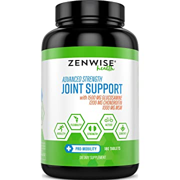 cheap Glucosamine Chondroitin Sulfate MSM Curcumin - Joint Supplement with Hyaluronic Acid for Extra Strength Relief - Natural Health & Mobility Support for Pain 2020