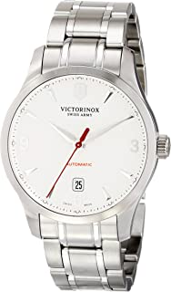Victorinox Mens 241667 Alliance 40mm Silver Watch