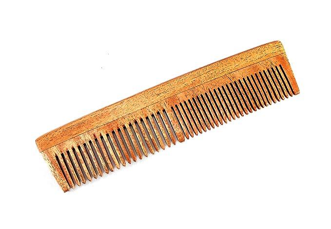 Peine de madera eSplanade para hombres y mujeres - madera de neem ...