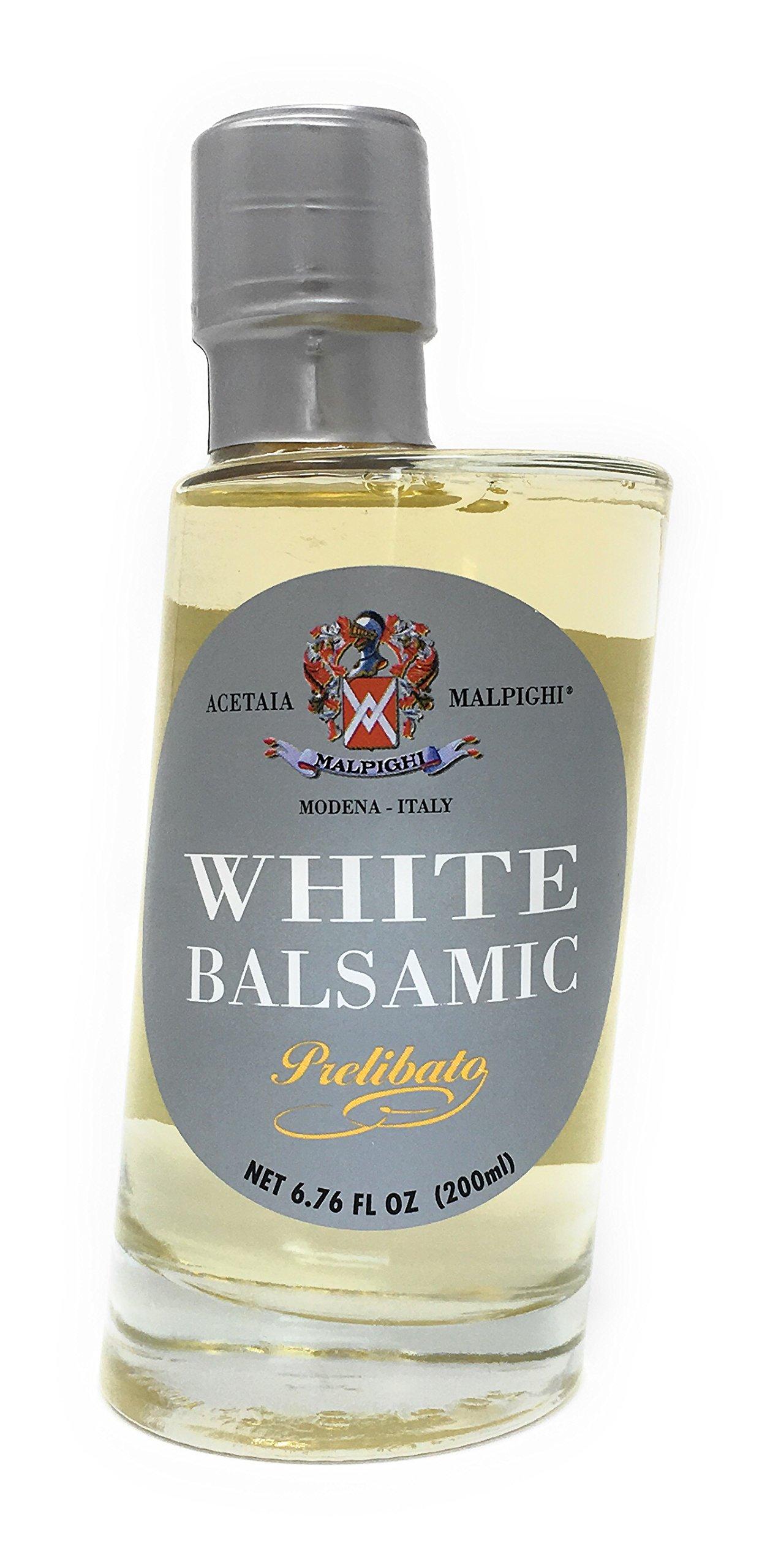 Malpighi Prelibato White Balsamic Vinegar - 6.7oz. Bottle