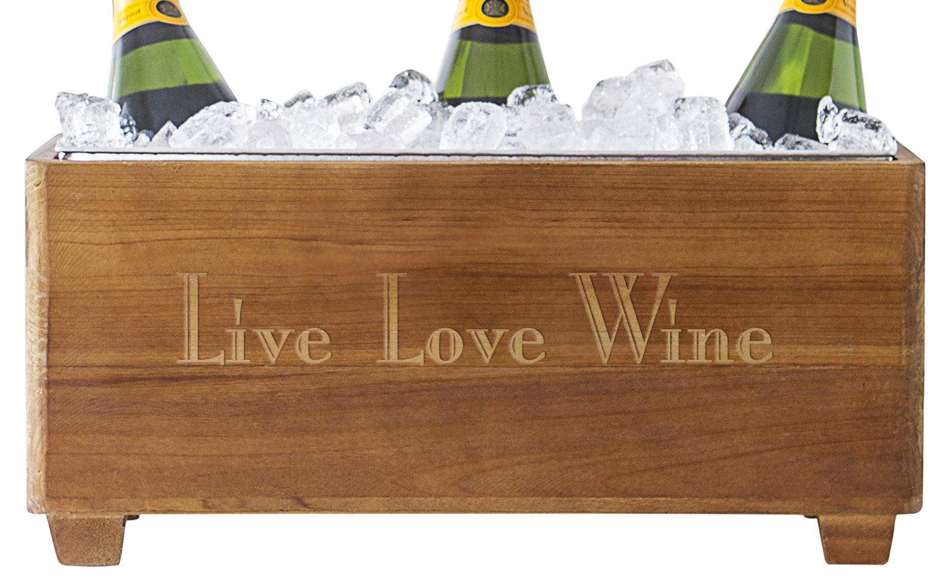 Cathy's Concepts LLW-2294 Live Love Wine Chiller, One Size, Brown