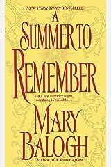 A Summer to Remember: A Bedwyn Family Novel (Bedwyn Saga) Kindle Edition