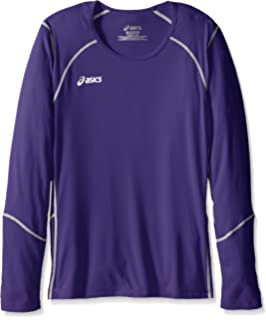 184a8df510c Amazon.com : ASICS Junior Roll Shot Jersey Exercise & Fitness Top ...