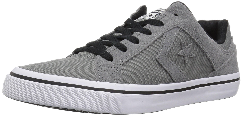 Converse EL Distrito Canvas Low Top Sneaker, Mason/White/Black, 12 M US
