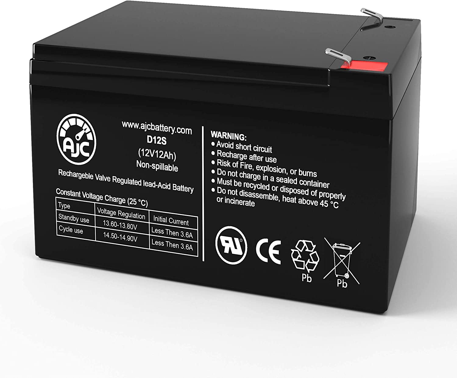 APC Smart-UPS SUA1000 12V 12Ah UPS Battery This is an AJC Brand Replacement