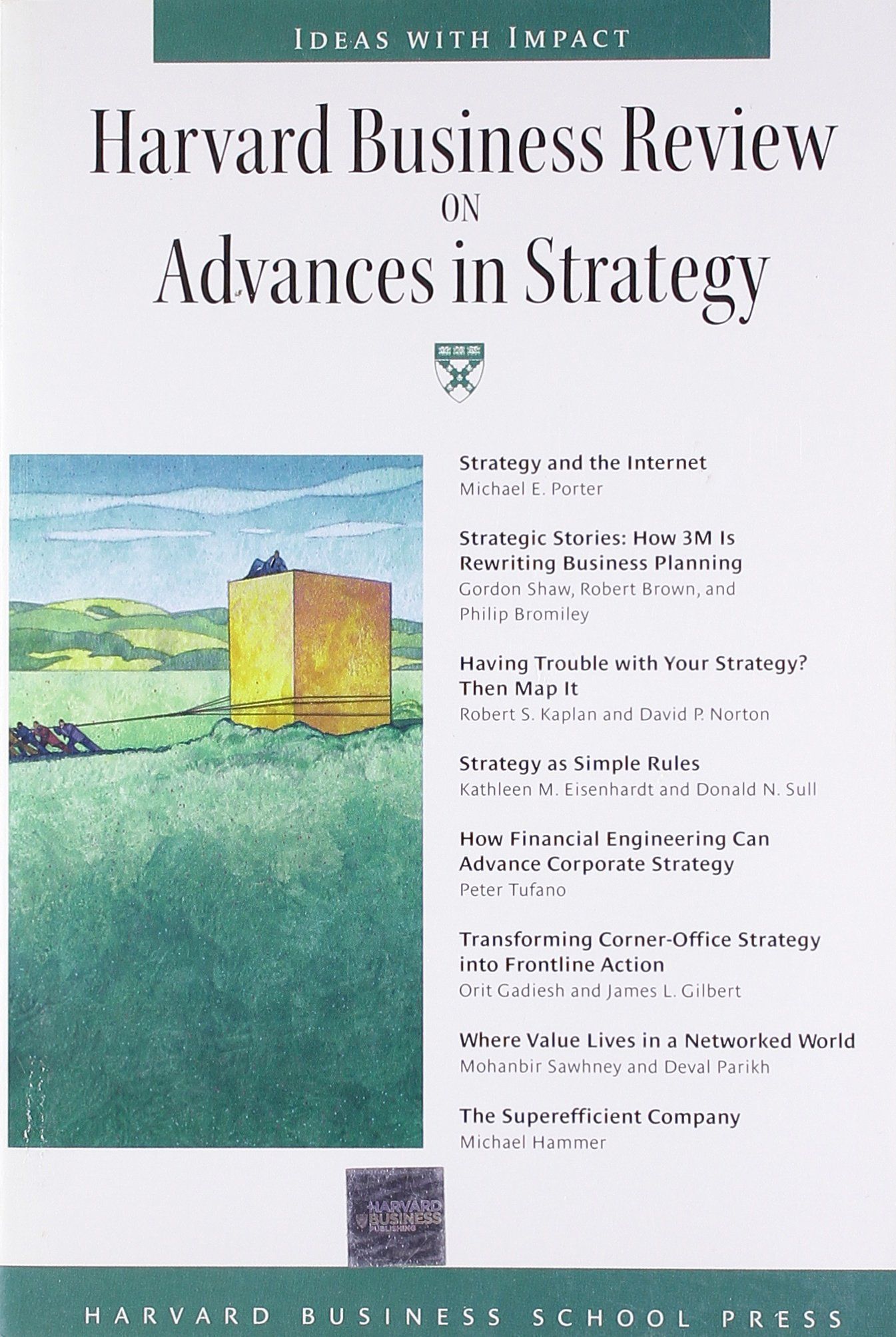 Read Online Harvard Business Review on Advances in Strategy ebook