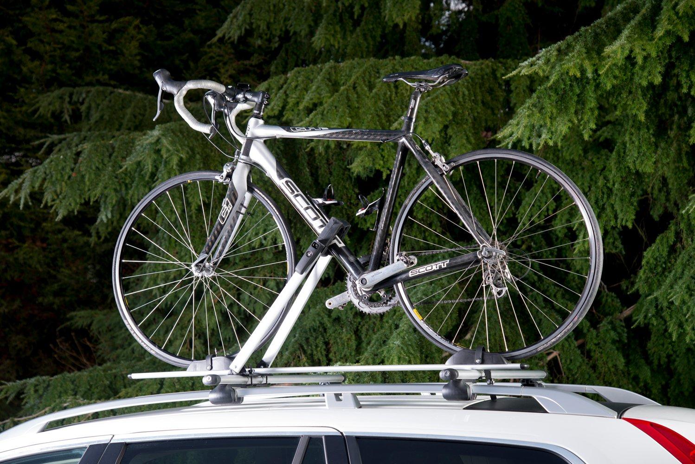 Auto Companion Soporte de techo en aluminio para moto o bicicleta